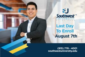 Last Day to Enroll August 7th