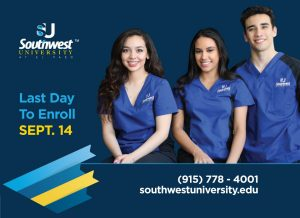 Last Day to Enroll Sept 14